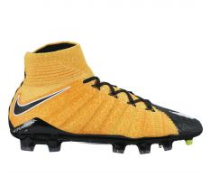 Nike Jr Hypervenom Phantom III Dynamic Fit FG - Laser Orange/Black/White/Volt