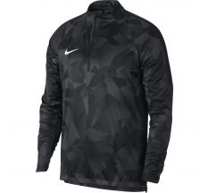 Nike Shield Squad Drill Top - White/Black