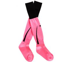 Puma Power 5 Soccer Sock - Fluo Pink/Black