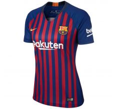 Nike Women's Barcelona Home Jersey 18/19 - Deep Royal Blue/University Gold