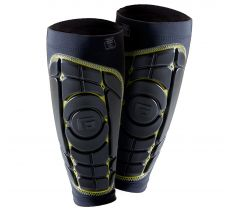 G-Form Pro-S Elite Shin Guard - Black/Black NOCSAE Approved