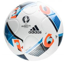 adidas Euro 16 Top Glider Ball - White/Bright Blue/Night Indigo