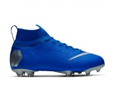 Nike Jr Mercurial Superfly 6 Elite FG - Racer Blue/Metallic Silver/Black
