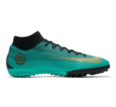 Nike CR7 Mercurial Superflyx 6 Academy TF - Clear Jade/Metallic Vivid Gold/Black