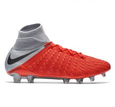 Nike Hypervenom Phantom 3 Elite Dynamic Fit FG - Light Crimson/Metallic Dark Grey