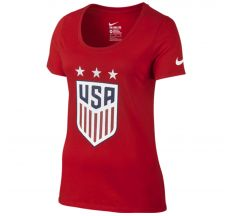 Nike Women's USA Crest Tee - University Red
