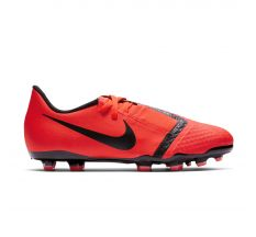 Nike Jr Phantom VNM Academy FG - Bright Crimson/Black