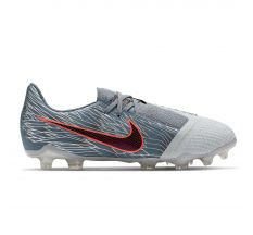 Nike Jr Phantom VNM Elite FG - Wolf Grey/Black/Armory Blue