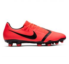 Nike Phantom VNM Academy FG - Bright Crimson/Black