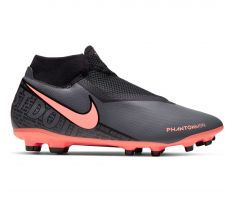 Nike Phantom Vision Academy Dri-Fit MG - Dark Grey/Bright Mango/Black