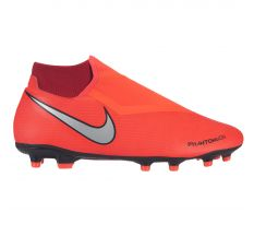 Nike Phantom VSN Academy Dynamic Fit MG - Bright Crimson/Metallic Silver