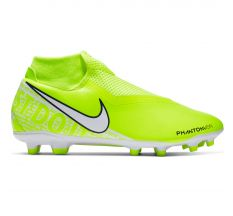 Nike Phantom VSN Academy Dynamic Fit MG - Volt/White