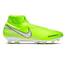 Nike Phantom VSN Elite Dynamic Fit FG - Volt/White