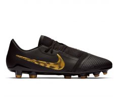 Nike Phantom VNM Pro FG - Black/Metallic Vivid Gold