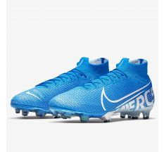 Nike Mercurial Superfly 7 Elite FG - Blue Hero/White/Volt