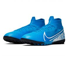 Nike Mercurial Superfly 7 Elite TF - Blue Hero/White