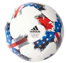 adidas 17 MLS Top Glider Ball - White/Red/Blue