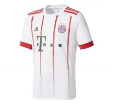 adidas Youth Bayern Munich Third Jersey 17/18 - Crystal White/Cinder