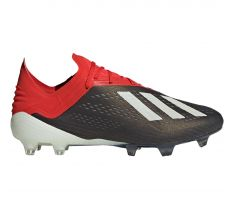 adidas X 18.1 FG - Core Black/White/Active Red