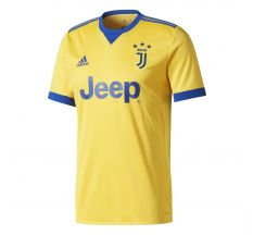 adidas Juventus Away Jersey 17/18 - Bold Gold/Collegiate Royal