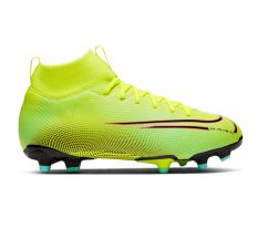 Nike Jr Mercurial Superfly 7 Academy MDS#002 FG/MG - Lemon Venom/Black/Aurora Green