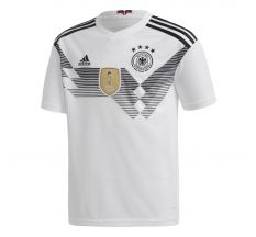 adidas Youth Germany Home Jersey 2018 - White/Black