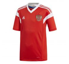 adidas Youth Russia Home Jersey 2018 - Red/White