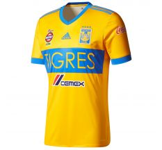 adidas Tigres Home Jersey 17/18 - Collegiate Gold/Blue