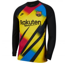 Nike Barcelona Goalkeeper Champions League Jersey 19/20 - Yellow