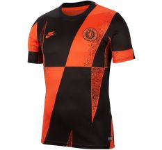 Nike Chelsea Pre-Match Dry Top 19/20 - Rush Orange/Black