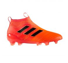 adidas Jr Ace 17+ PureControl FG - Solar Orange/Core Black/Solar Red