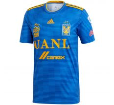 adidas Tigres UANL Away Jersey 18/19 - Blue/Gold