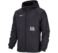 Nike FC All Weather Lite Jacket - Black/White