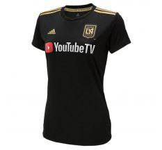 adidas Women's LAFC Home Jersey 2018 - Black/Dark Football Gold
