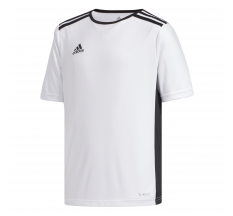 adidas Youth Entrada 18 Jersey - White/Black