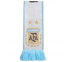 adidas Argentina Federation Home Scarf - White/Clear Blue/Black