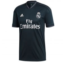 adidas Real Madrid Away Jersey 18/19 - Tech Onix/Bold Onix