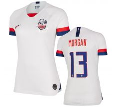 Nike Women's Morgan #13 USWNT Home Jersey 2019