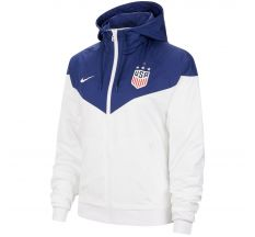 Nike Women's USA 4-Star Windrunner Jacket - White/Blue Void