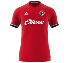 Adidas Club Tijuana Xolos Men's Condivo 16 Fan Jersey - Power Red/white