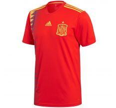 adidas Spain Home Jersey 2018 - Red/Bold Gold