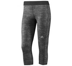 adidas Women's Techfit Capri Tight - Grey