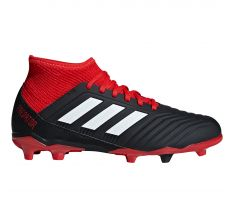 adidas Jr Predator 18.3 FG - Core Black/White/Red