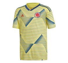 adidas Youth Colombia Home Jersey 2019 - Yellow/Marine