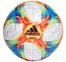 adidas Context 19 Official Match Ball (Women's World Cup 2019) - White/Solar Yellow/Solar Red