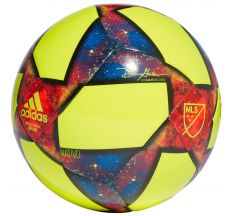 adidas MLS Capitano Ball - Solar Yellow/Black/Football Blue