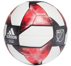 adidas MLS NFHS Top Training Ball - White/Black/Active Red