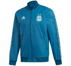 adidas Argentina Anthem Jacket 2019 - Blue Night/Light Aqua