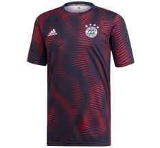adidas Bayern Munich Pre-Match Jersey (Parley for the Oceans) - Collegiate Navy/True Red
