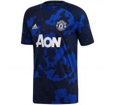 adidas Manchester United Pre-Match Jersey 19/20 - Mystery Ink/Navy